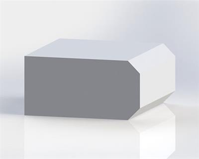 Solid Surface Double Bevel Edge