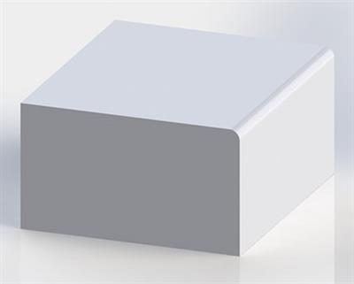 Solid Surface Eased Edge
