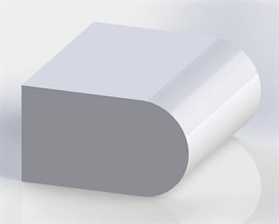 Solid Surface Full Bullnose