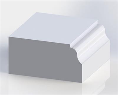 Solid Surface Ogee Edge